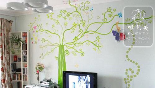 多款精致手绘电视背景墙幼儿园彩绘