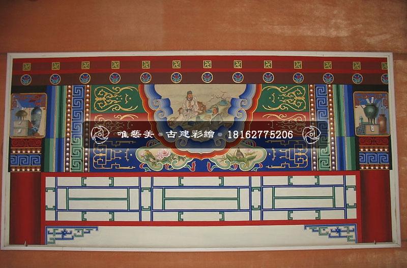 中国古建筑彩绘-苏式彩绘图片