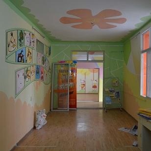 儿童舞蹈室壁画