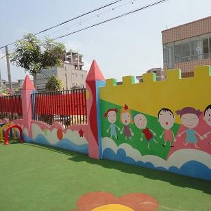 幼儿园楼梯护栏/幼儿园教室装饰图片/幼儿园铁艺护栏